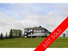 Spruce Meadows ACREAGE for sale:  5 bedroom 3,860 sq.ft. (Listed 2014-09-13)